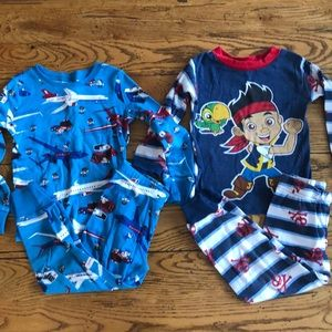 Lot of boys pajamas